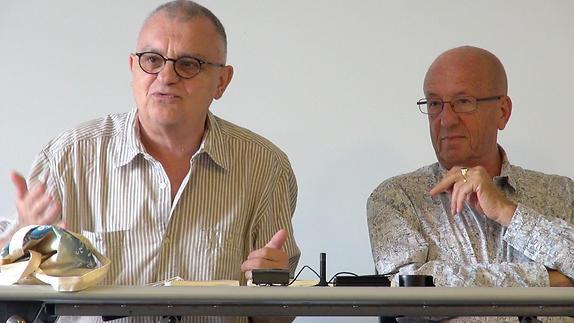 """Image du spectacle """"C'est l'auteur qui décide"""", avec Philippe Minyana"""