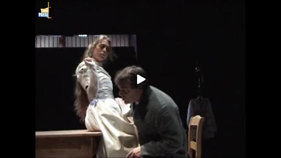 """Vidéo """"Mademoiselle Julie"""" de Strindberg, m.e.s. Robin Renucci - Extraits et entretien"""