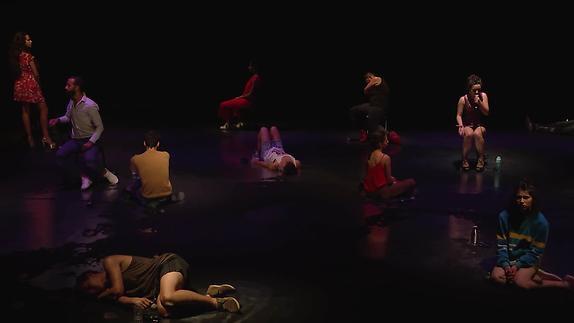 """Image du spectacle """"Il pourra toujours dire que c'est pour l'amour ..."""" G. Shaheman - Extraits"""