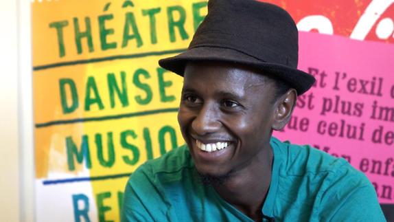Vidéo Entretien avec Hakim Bah Prix RFI Théâtre 2016