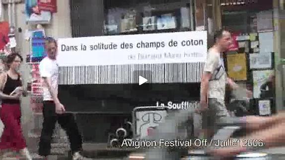 """Vidéo """"Dans la solitude des champs de coton"""" - Koltès, m.e.s. N. Derieux, bande-annonc"""