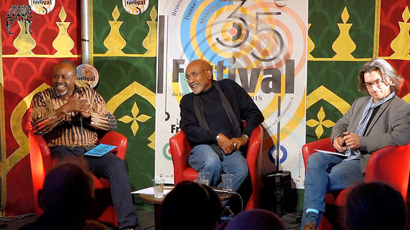 Vidéo Hassane Kouyaté, Patrick Chamoiseau et G. Pigeard de Gurbert, conversation