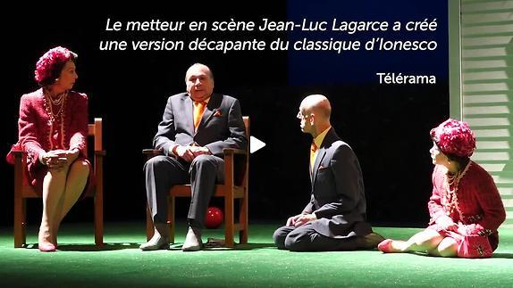 "Vidéo ""La Cantatrice chauve"" - Ionesco / Lagarce - Teaser"