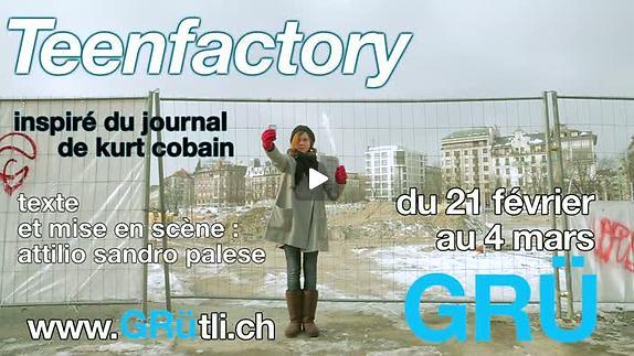 "Vidéo ""Teenfactory"", Teaser"