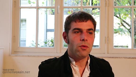 """Vidéo Nathanaël Frérot, """"Le premier texte de théâtre"""""""