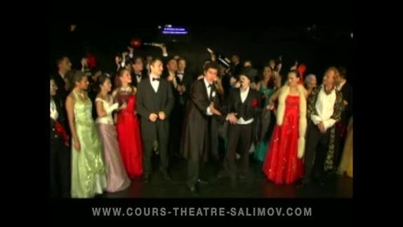 """Image du spectacle """"La Chauve-souris"""" (extr 12), opérette de Johann Strauss fils, Emile Salimov"""