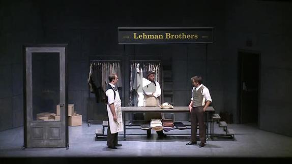 "Vidéo ""Chapitres de la chute, Saga des Lehman Brothers"", m.e.s. A. Meunier, teaser"