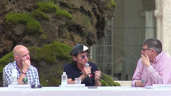 """Vidéo Krzysztof Warlikowski et Piotr Gruszczynski pour """"Kabaret Warszawki"""""""