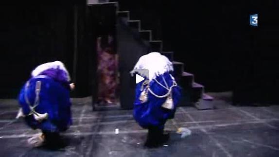 """Vidéo """"Et pourquoi pas la Lune ?"""" de C. Marchal, m.e.s. T. Guerry, reportage"""
