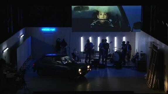 """Vidéo """"Vanishing Point"""" de Marc Lainé - Images de répétitions"""
