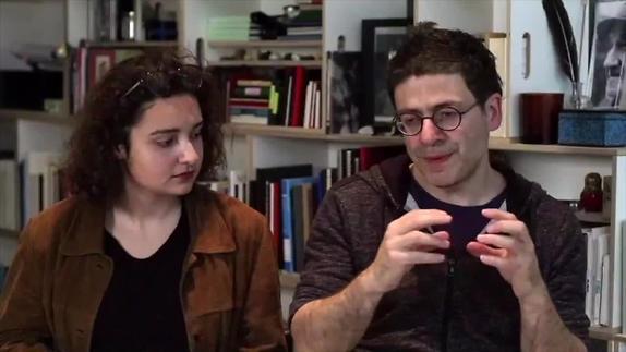 """Image du spectacle A W. Mouawad, """"Votre rapport avec les artistes qui vivent au Liban ?"""""""
