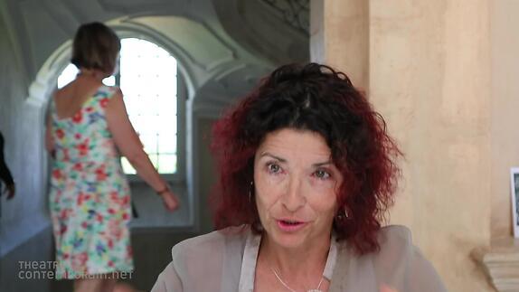 """Image du spectacle Nathalie Papin, """"Mange-moi"""", premier texte, genèse"""