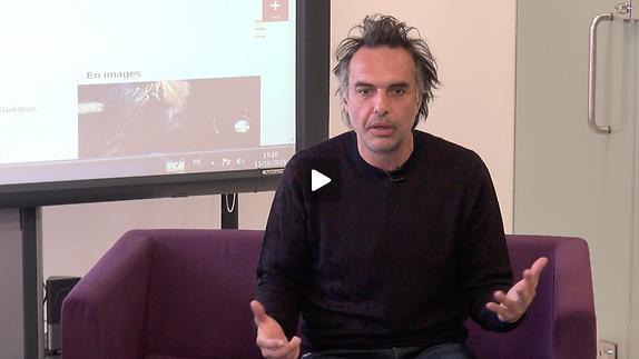 """Vidéo Nicolas Bouchaud, """"Dom Juan"""", les rapports aux autres personnages"""