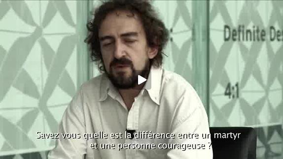 """Vidéo """"Giordano Bruno"""", m.e.s. Antoine Gindt - Reportage"""