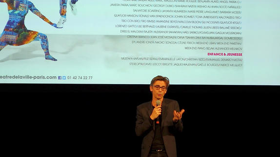 Vidéo Présentation de saison 17-18 / Théâtre de la Ville - Paris