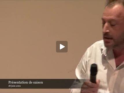 Vidéo Patrick Pineau lit un extrait du Suicidé