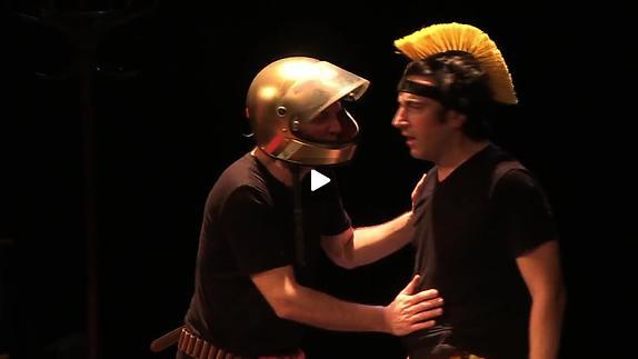 """Vidéo """"Iliade"""", m.e.s. Alexis Perret et Damien Roussineau - Bande-annonce"""