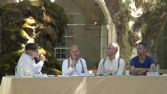 "Vidéo J. Lambert-wild, J. McDonald, T. Collet & F. Royet pour ""La Mort d'Adam"""
