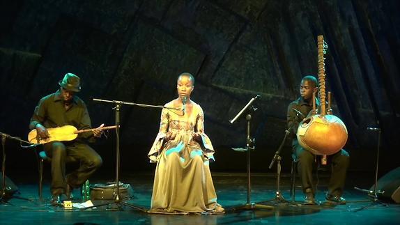 """Vidéo Rokia Traoré - """"Dream Mandé – Djata"""" - extraits"""