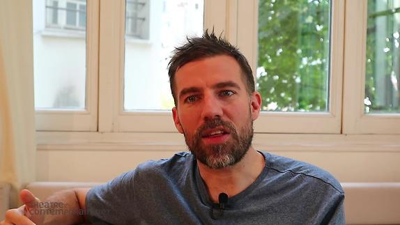 """Vidéo David Paquet, """"Le Brasier"""",  les difficultés d'écriture"""