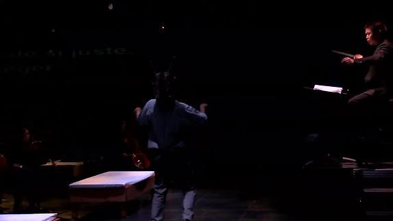 """Vidéo """"Songe(s)"""", m.e.s. Dominique Pitoiset et Stephen Taylor - ENSATT"""