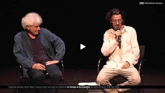 """Vidéo """"Le Temps et la chambre"""", présentation par Alain Françon"""