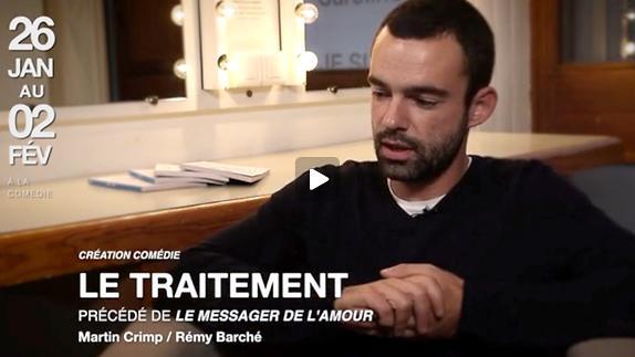 """Vidéo Rémy Barché nous parle de son spectacle """"Le Traitement"""" en 2 minutes !"""