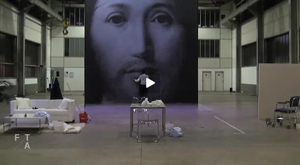"""Vidéo """"Sur le concept du visage du fils de Dieu"""", Romeo Castellucci"""