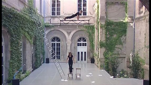 """Vidéo """"Le Vertige"""" (Sujets à Vif - Programme B), extraits"""