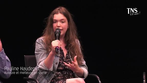 """Vidéo """"Les Terrains vagues"""" présentation Pauline Haudepin"""