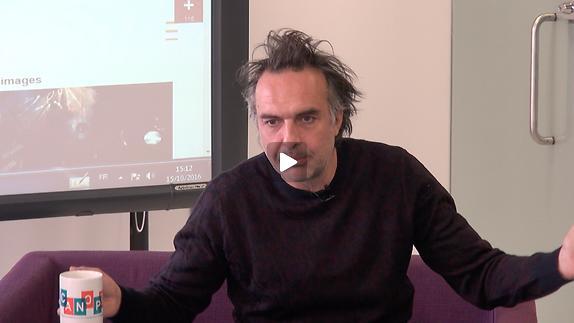 "Vidéo Nicolas Bouchaud, ""Dom Juan"", la question de la religion..."