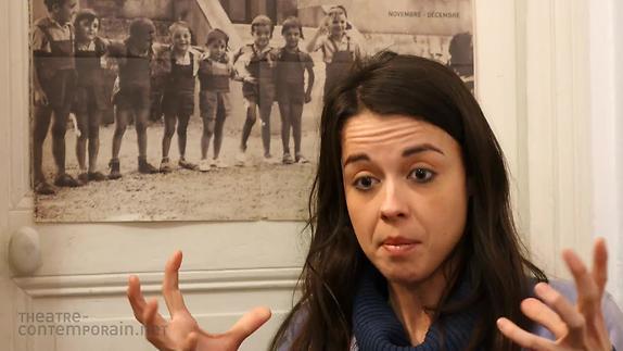 """Vidéo Céline Debecq, """"L'Enfant sauvage"""", les difficultés d'écriture"""