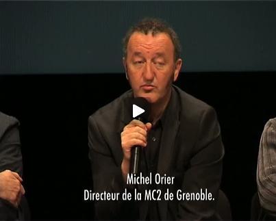 """Vidéo """"Home"""", présentation par Michel Orier"""