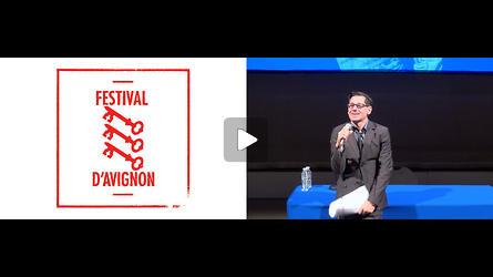 Conférence de presse du 69e Festival d'Avignon, présentation par Olivier Py