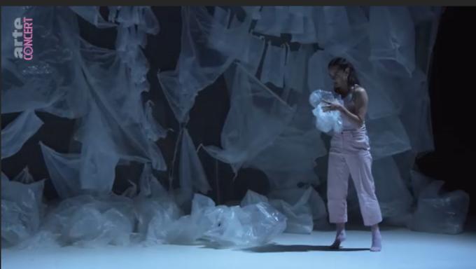"""Frozen Songs"" d'Ina Christel Johannessen (captation intégrale)"