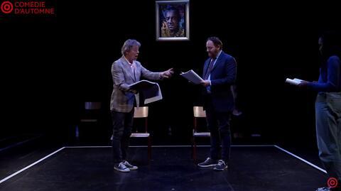 """Théâtre à la table : """"Le Système Ribadier"""" - Georges Feydeau/Gilles David (Comédie-Française)"""