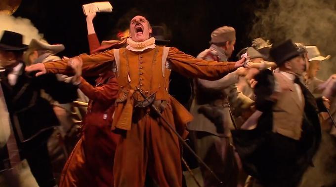 """""""Cyrano de Bergerac"""" d'Edmond Rostand, mise en scène de Denis Podalydès (sur France 5)"""