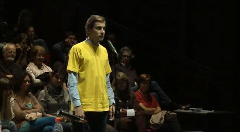 """Please, continue (Hamlet)"", Yan Duyvendak et Roger Bernat (un documentaire de David Daurier)"