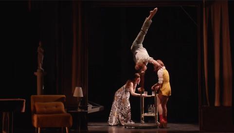 """""""La Nuit du Cerf"""" par le Cirque Le Roux, mise en scène Charlotte Saliou, au Théâtre Libre de Paris (captation intégrale)"""