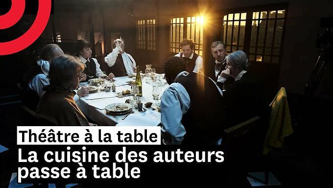 """Théâtre à la table : """"La cuisine des auteurs passe à table"""" - Jérôme Pouly (Comédie-Française)"""
