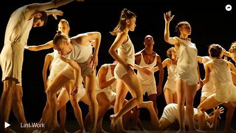 """""""Last work"""", Ohad Naharin, par les danseurs de la Batsheva Dance Company(captaion intégrale)"""