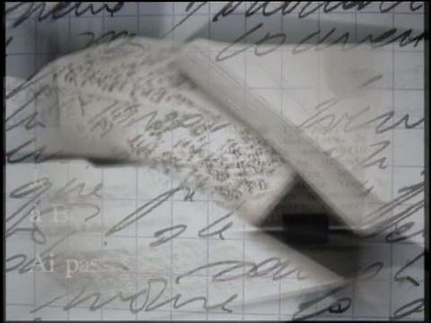 """Journal vidéo"", Jean-Luc Lagarce"