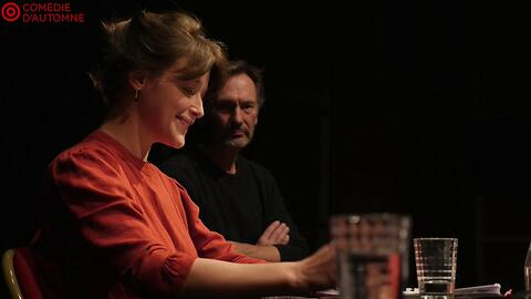 """Théâtre à la table - """"Hippolyte"""" - Robert Garnier/Didier Sandre  - (Comédie-française)"""