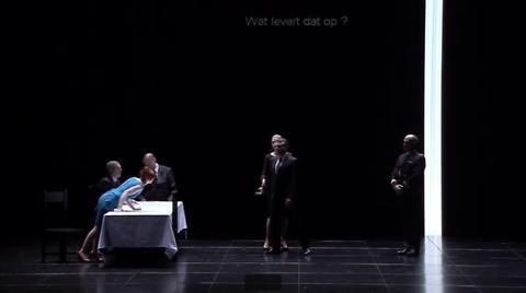 """""""Au monde"""", Philippe Boesmans, Joël Pommerat, Patrick Davin (captation intégrale)"""