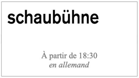 """""""Rückkehr nach Reims"""" d'après """"Retour à Reims"""" de Didier Eribon, mise en scène Thomas Ostermeier (captation en allemand non sous-titrée)"""