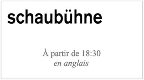 """""""Returning to Reims"""" d'après """"Retour à Reims"""" de Didier Eribon, mise en scène Thomas Ostermeier (captation intégrale en anglais non sous-titrée)"""