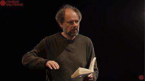 """Théâtre à la table : """"Ce que j'appelle oubli"""" - Laurent Mauvignier, Denis Podalydès (Comédie-Française)"""