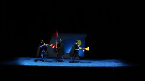 """""""Les Trois brigands"""", Tomi Ungerer, Angélique Friant (captation intégrale)"""