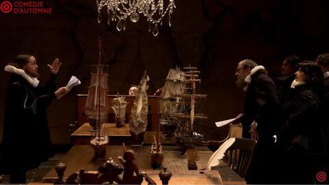 """Théâtre à la table : """"Le Soulier de satin"""", première journée - Paul Claudel/Éric Ruf"""