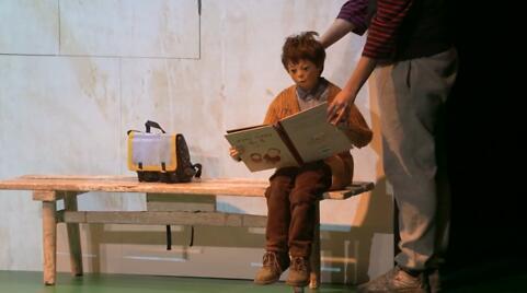 """""""L'Enfant Océan"""" Jean-Claude Mourlevat,  de Frédéric Sonntag (captation intégrale)"""